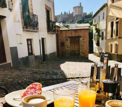 Alhambra breakfast